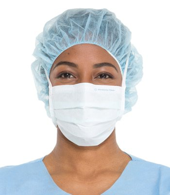- One Mask Lite The Surgical Pleat-style With Halyard Ties Clean